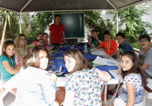 campamento de inglés para adolescentes en Valencia - clases