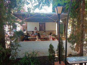 campamento en inglés para niños en Valencia - clases al aire libre